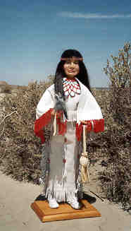PAIUTE DANCER